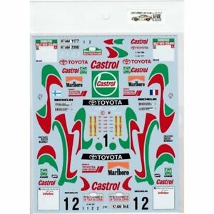 Museum-Collection-1-24-Celica-ST205-Tour-de-Corse-amp-NZ-Decal-for-TAMIYA-D766