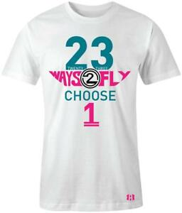 034-23-Ways-2-Fly-034-T-shirt-to-Match-Retro-034-South-Beach-034-8-039-s