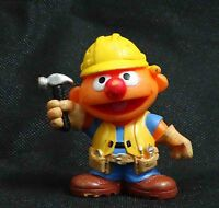 Hasbro Playskool Sesame Street  ERNIE Figures old broken lost color #ht6