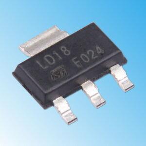 AMS1117-1-8V-Spannungsregler-Low-Drop-SOT223-SOT-223-LDO-LD1117-LM1117-TS1117