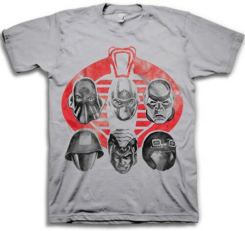 GI Joe Cobra Mens Light Gray T-Shirt
