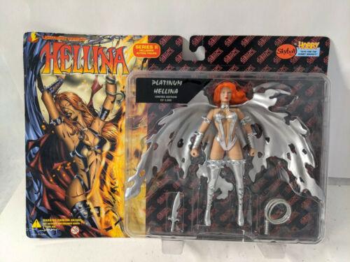 Lightning Comics Platinum Hellina Series 2 Hellborn Action Figure Skybolt Toys