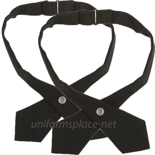 2 Croix liens French Toast Filles Réglable Couleur Unie Plaid Croix Cravate uniformes