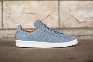 big sale ff3cc 0817b Image is loading Adidas-Consortium-x-HighSnobiety-Campus-80s-B24113-Grey-