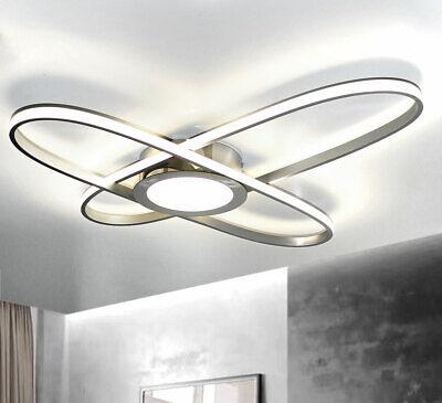 XXL LED Design Deckenleuchte Deckenlampe Hanna Oval Wand