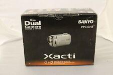 BRAND NEW SANYO XACTI VPC-GH2 Dual Camera (BLACK)