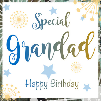 Special Grandad Birthday Card