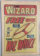THE WIZARD weekly British comic book March 17, 1973 (no toy)