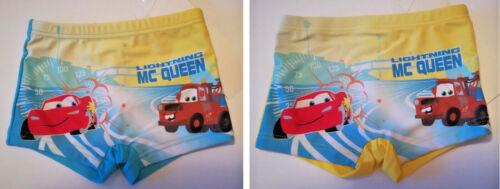 Disney Cars Badehose Badeboxer Baby Gr 74-92 blau gelb