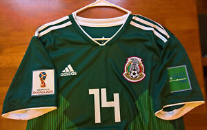 92fb2c486 Image is loading Javier-Chicharito-Hernandez-Mexico-Home-2018-World-Cup-