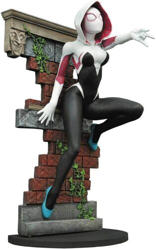 MARVEL Galleria SPIDER-Gwen PVC Figura Statua SPIDER Gwen 22CM