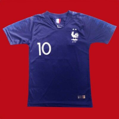 low priced 9aca4 53398 FRANCE - Soccer Kid - FIFA WORLD CUP 2018 - MBAPPE - Child Jersey - REPLICA  ! | eBay