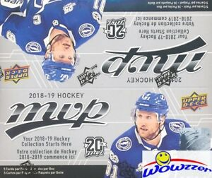 2018-19-Upper-Deck-MVP-Hockey-MASSIVE-Factory-Sealed-36-Pack-Retail-Box-180-Card