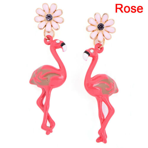 Flamingo Pendentif Boucles d/'oreilles Goutte Dangle Ear Stud Boucles d/'oreilles Bijoux Femme Fashion E
