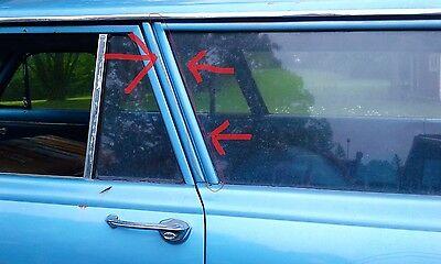 1962-65 Chevy II Nova Front Wheel Well Molding RH