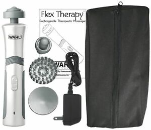 Wahl-4294-1101-Flex-Rechargeable-Flex-Theraphy-Massager-with-4-Attachments