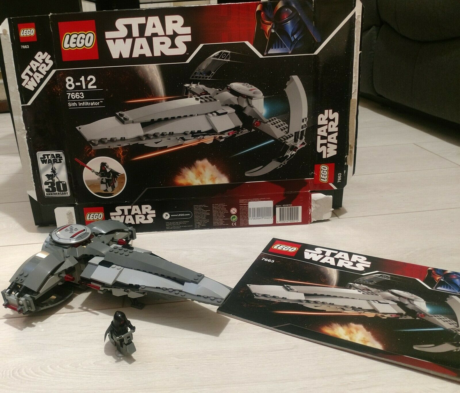 Lego Star Wars - Sith Infiltrator 7663 (2007)