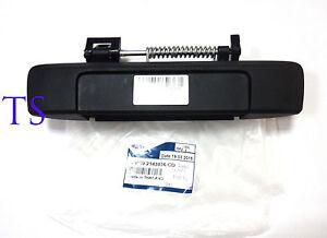 Genuine Matte Black No Keyhole Tailgate Handle Fit Ford Ranger T6 Facelift 12 15