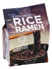 Lotus Foods - Organic Rice Ramen Black Rice Noodles 4 Pack Forbidden - 10 oz.