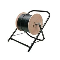 Eagle Cable Caddy Wire Cable Reel Spool Stand Cart Line Dispenser Cart
