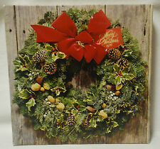 "Springbok ""O Christmas Wreath""  jigsaw puzzle Complete 0ver 500 pc Holiday"