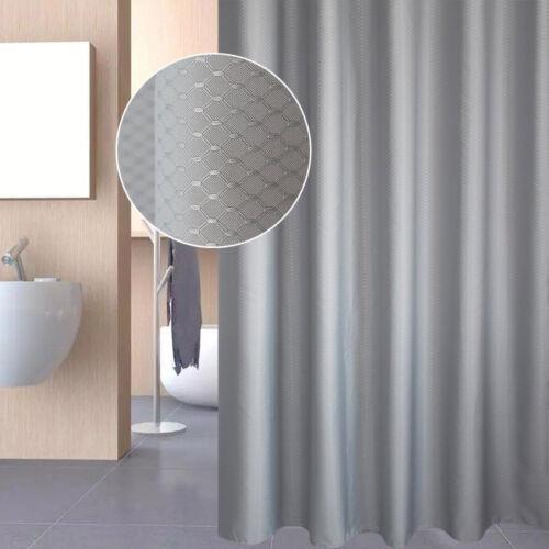 "71/"" Waterproof Fabric Bathroom Bath Shower Curtain Printed Multicolor Mouldproof"