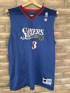 Vintage-NBA-Philadelphia-76ers-Sixers-Allen-Iverson-3-Champion-Jersey-Youth-XL
