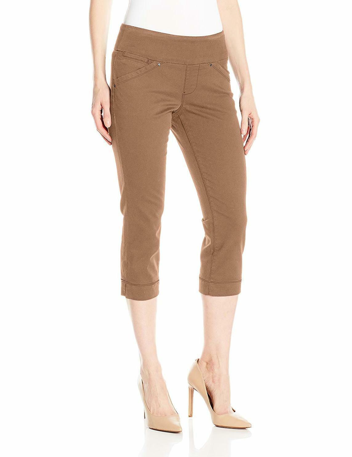 Jag Jeans Women's Petite Marion Pull On Crop in Bay Twill, - Choose SZ color