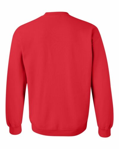 MARINES CREW NECK RED Sweatshirt USMC Military Armed Forces Semper Fi Marine USA