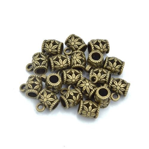 Bail Connector Spacer Beads Charm Holder Connector fit European Charm 100 M091