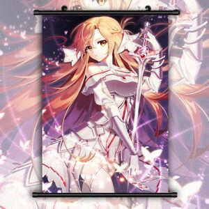SAO Sword Art Online Asuna Wallscroll Poster Kunstdrucke Bider Druck