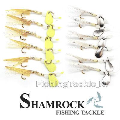 Sea Fishing Sabiki Rigs Shamrock Irish Tackle MickeyFish 2 Hook Sea Rigs
