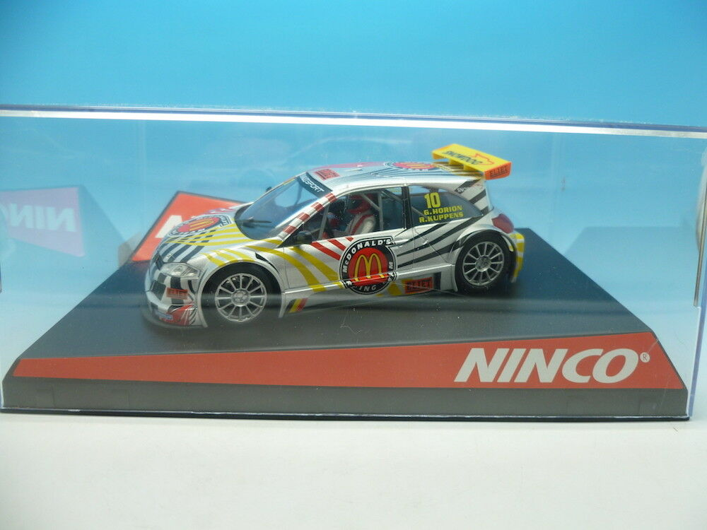 Nouvelle année année année nouvelle couleur Ninco 50452 Renault Megane McDonalds, Comme neuf UNUSED e798a9