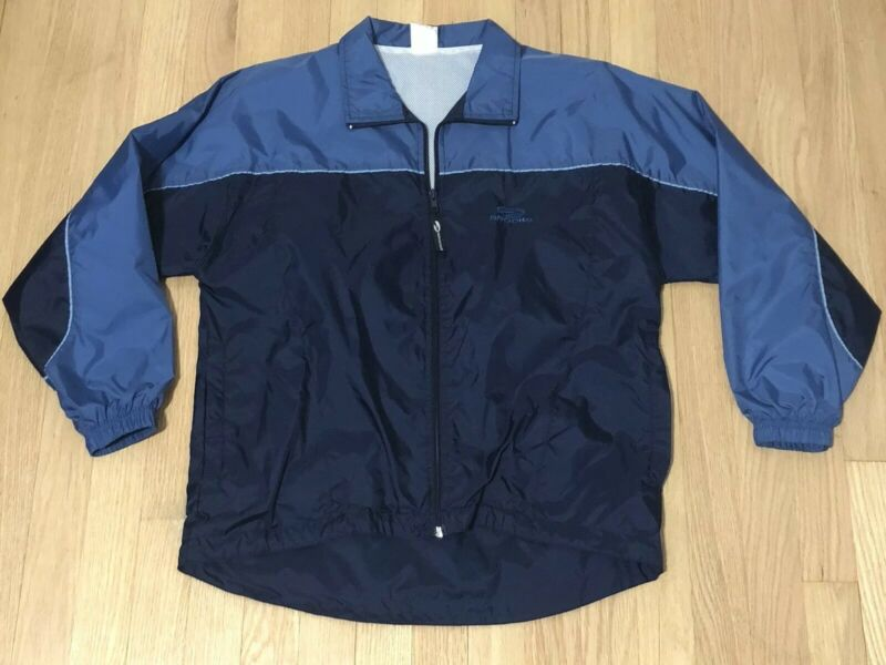 Brooks For Women Small Running Jacket Windbreaker Full Zip Blue Vented S