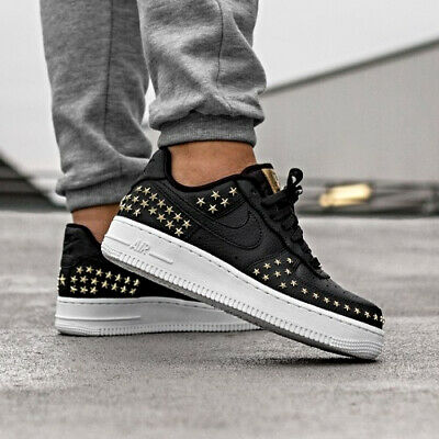 nike air force 1 studded white