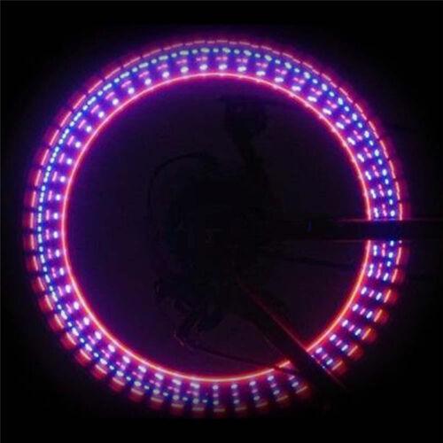 2 PCS 5 LED Flash Light Bicycle Motorcycle Car Bike Tyre Tire Wheel Valve Lamp
