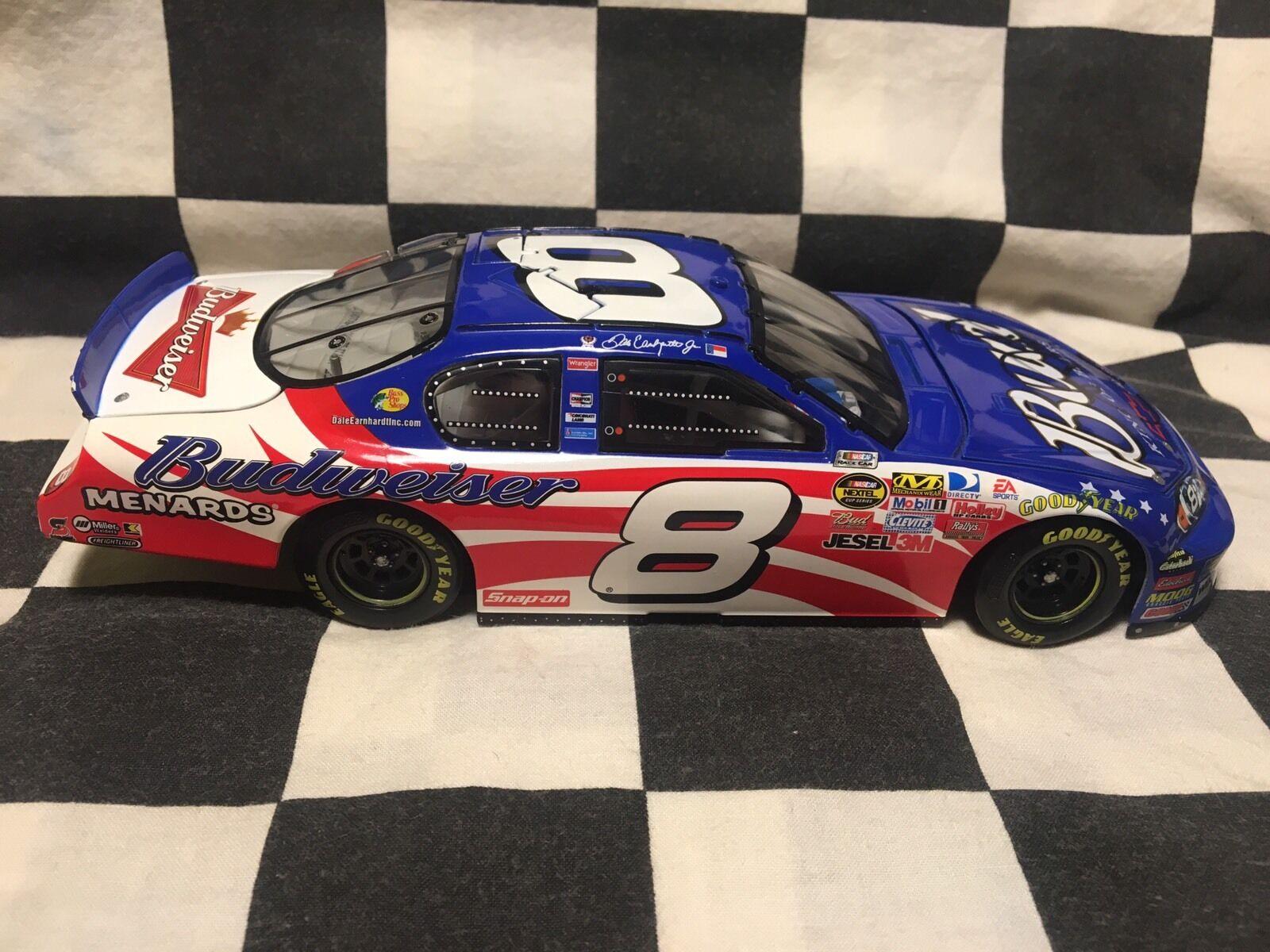 2007 Dale Earnhardt Jr 1 24 diecast diecast diecast Budweiser Stars & Stripes Autograph 80da44