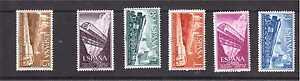 ANO-1958-EDIFIL-1232-37-NUEVOS-SIN-FIJASELLOS-LUJO-SPAIN