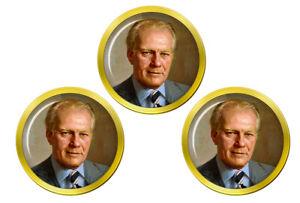 President-Gerald-Ford-Marqueurs-de-Balles-de-Golf