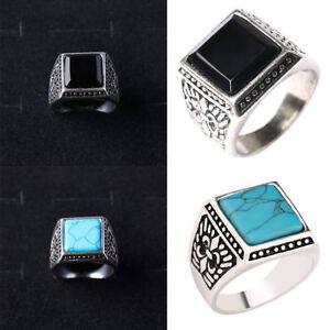 Mens Ancient Vintage Folk Ethnic Style Fashion Wedding Ring Jewelry