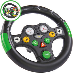 BIG-Bobby-Car-Tractor-Sound-Wheel-Lenkrad