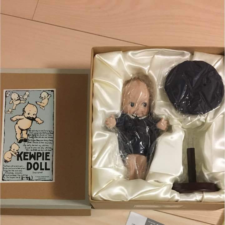 Kewpie Doll Trde Mark world limited 500 pieces from JAPAN free shipping