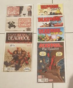 Marvel-comic-Deadpool-lot-of-7-Deadpool-comics