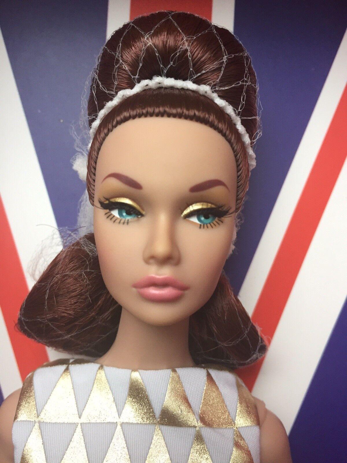 Integrità Fr D'Oro Vacanza Poppy Parker Bambola Swinging London Moda Royalty Le