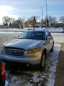 2003 Infiniti FX35 Call for a test drive