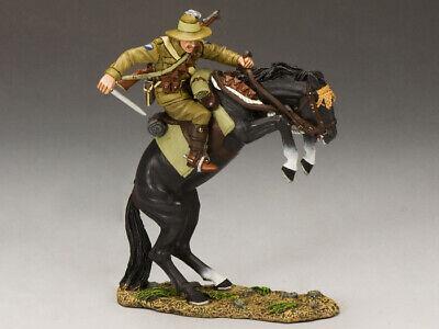 King & Country - Al014 - Leaping Lighthorseman - Neuf En Boite - New In Box