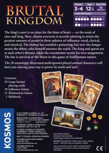 Brutal Kingdom Game of Beastly Betrayal by Michael Rieneck Kosmos 692506
