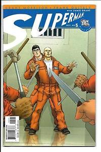 ALL-STAR-SUPERMAN-5-DC-COMICS-GRANT-MORRISON-FRANK-QUITELY-SEPT-2006-VFN
