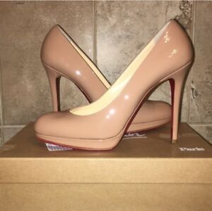 3ae0cd0d6c7 Image is loading Christian-Louboutin-Excellent-condition-only-worn-once -Size-