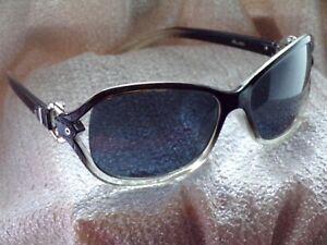 Lunettes de soleil   sunglasses Parallèle NOIR   BLANC FEMME TBE ... 9412baacc4a8